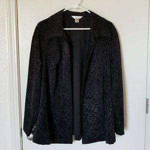 CJ Banks A-line Jacket Size X